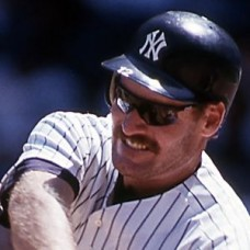 Wade Boggs - 1993 New York Yankees - original full color 35mm mounted slide (017)