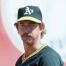 "Bert Bradley - 1984 Oakland Athletics - 4""x6"" full color print"