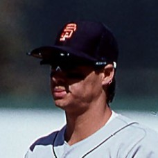 Tony Perezchica - 1988 San Francisco Giants - original full color 35mm mounted slide (087)
