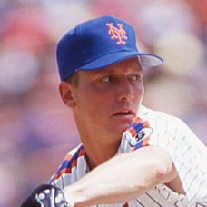 David Cone - New York Mets (undated) - original full color 35mm mounted slide (151)