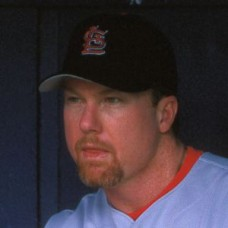 Mark McGwire - 1998 St. Louis Cardinals - original full color 35mm slide (196)