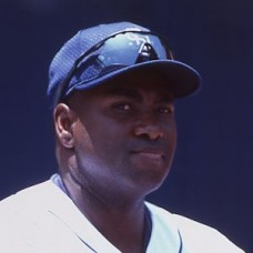 Tony Gwynn - 2000 San Diego Padres - original full color 35mm slide (210)