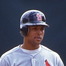 Luis Alicea - 1993 St. Louis Cardinals - set of 3 original 35mm full color slides (355-357)
