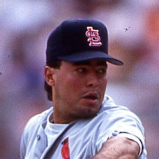 Omar Olivares - 1993 St. Louis Cardinals - set of 2 original 35mm full color slides (360-361)