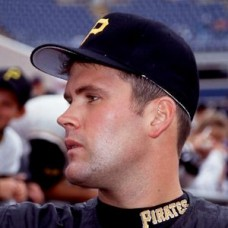 Denny Neagle 1993 Pittsburgh Pirates original 35mm full color slide (572)