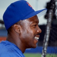 Vince Coleman - 1993 New York Mets - set of 7 one-of-a-kind full color 35mm slides. (669-675)