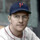 "Walter ""Boom-Boom"" Beck - c. 1939-41 Philadelphia Phillies - 4""x6"" colorized print"