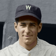 "Bucky Harris (1924) - 4""x6"" colorized print"