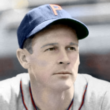 "Charlie Frye (1940) 4""x6"" colorized print"