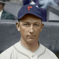 "Clyde Barnhart (1925) - 4""x6"" colorized print"