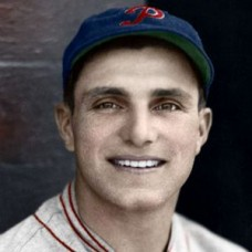 "Dolph Camilli - 1934 Philadelphia Phillies 4""x6"" colorized print"