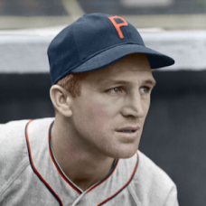 "Heinie Mueller - c. 1939-41 Philadelphia Phillies - 4""x6"" colorized print"