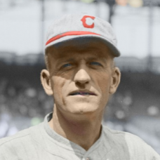 "Jake Daubert (1923) - 4""x6"" colorized print"