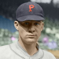 "Johnny Gooch (1925) - 4""x6"" colorized print"