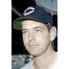 "Johnny Klippstein (1960) - 4""x6"" colorized print"