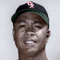 "Larry Doby (c. 1956-57-59) - 4""x6"" colorized print"