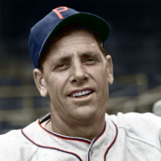 "Lloyd Brown - 1940 Philadelphia Phillies -  4""x6"" colorized print"
