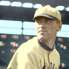 "Red Nelson (1912) - 4""x6"" colorized print"