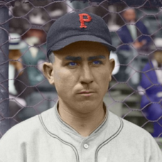 "Vic Aldridge (1925) - 4""x6"" colorized print"