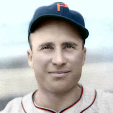 "Wally Berger (1940) - 4""x6"" colorized print"