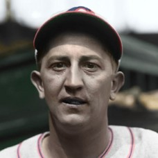 "Allyn Stout - 1934 Cincinnati Reds - 4""x6"" colorized print"