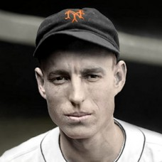 "Bernie James - 1933 New York Giants - 4""x6"" colorized print"
