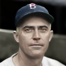 "Bill Harris - 1938 Boston Red Sox - 4""x6"" colorized print"