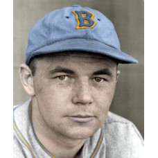 "Bill Weir - 1938 Boston Bees - 4""x6"" colorized print"