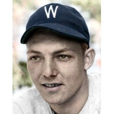 "Bill Zinser - 1941 Washington Senators - 4""x6"" colorized print"