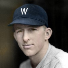 "Bud Thomas - 1932 Washington Senators - 4""x6"" colorized print"