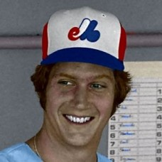 "Clay Kirby - 1976 Montreal Expos 4""x6"" colorized print"