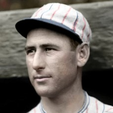 "Dick Burrus - 1926 Boston Braves - 4""x6"" colorized print"