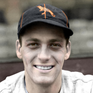 "Dick West - 1939 Baltimore Orioles - 4""x6"" colorized print"