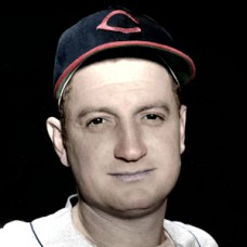 "Don Black - c. 1946-48 Cleveland Indians - 4""x6"" colorized print"