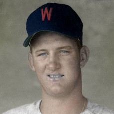 "Don Mincher - 1960 Washington Senators - 4""x6"" colorized print"