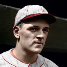 "Ed Clough 1926 St. Louis Cardinals - 4""x6"" colorized print"