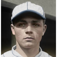 "Elbert Andrews - 1925 Philadelphia Athletics - 4""x6"" colorized print"