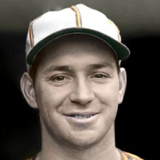 "Emil Bildilli - c. 1940-41 St. Louis Browns - 4""x6"" colorized print"