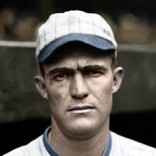 "Grady Adkins - 1928 Chicago White Sox - 4""x6"" colorized print"