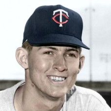 "Jim Manning - 1962 Minnesota Twins - 4""x6"" colorized print"