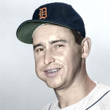 "Joe Coleman - 1955 Detroit Tigers - 4""x6"" colorized print"