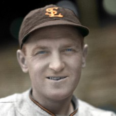 "Lou Koupal - 1937 St. Louis Browns - 4""x6"" colorized print"