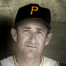 "Mickey Vernon - 1960 Pittsburgh Pirates - 4""x6"" colorized print"