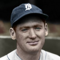 "Red Phillips - 1936 Detroit Tigers - 4""x6"" colorized print"