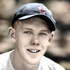 "Walt Ripley - 1935 Boston Red Sox - 4""x6"" colorized print"