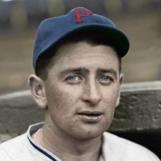 "Bud Hafey - 1935 Pittsburgh Pirates - 4""x6"" colorized print"