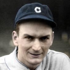 "Dan Jessee - 1929 Cleveland Indians - 4""x6"" colorized print"