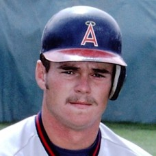 "Dave Heath - c. 1980s California Angels spring training - 4""x6"" full color print"