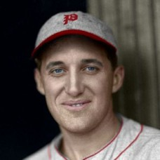 "Eddie Delker - 1932 Philadelphia Phillies 4""x6"" colorized print"
