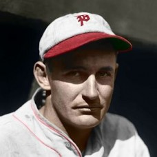 "Fred Brickell - c. 1930-32 Philadelphia Phillies 4""x6"" colorized print"